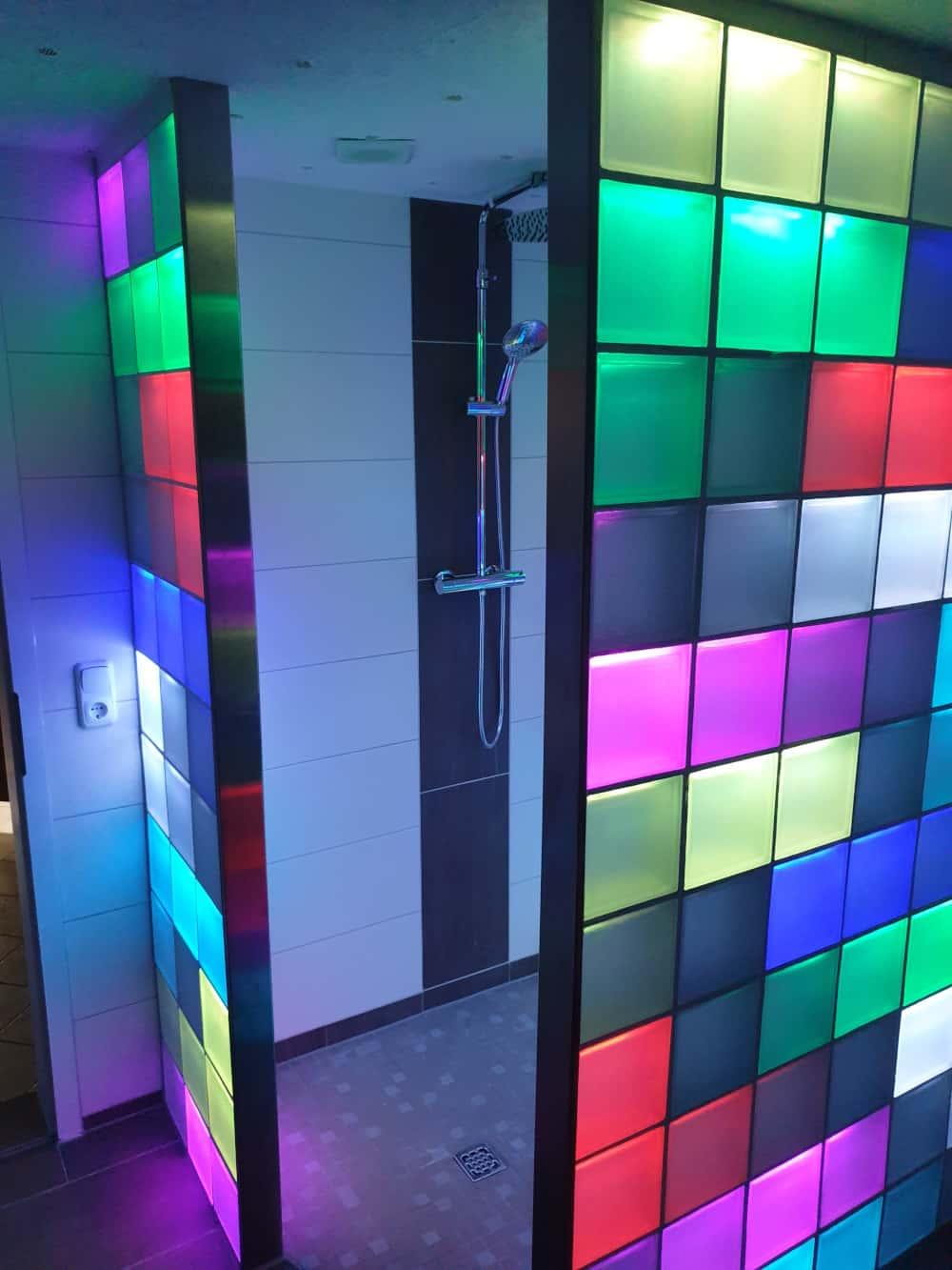 Liblox Glasbaustein Duschwand