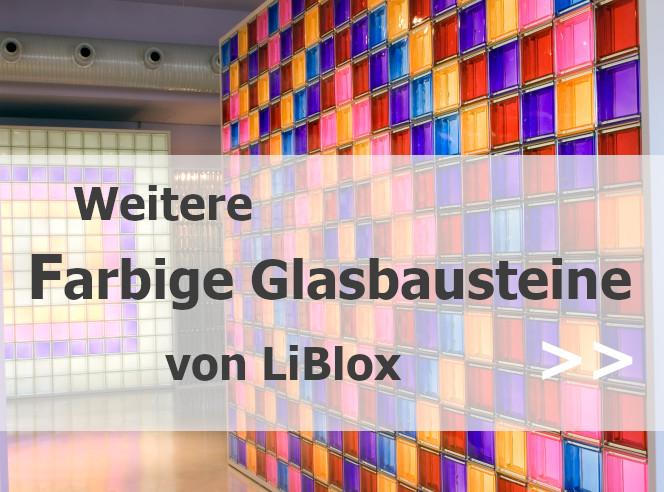 Farbige Glasbausteine bei Liblox.com
