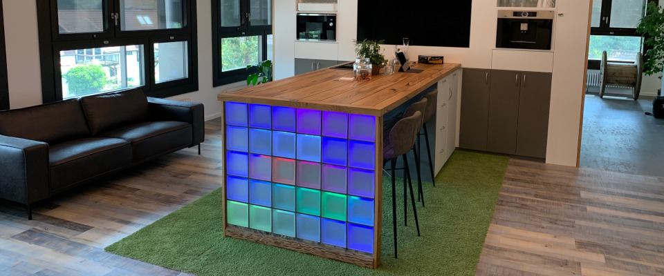 LiBlox LED Thekentisch